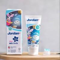 Jordan Toothpaste Rasa Strawberry Step 1 Pasta Gigi [0-5 Years/ 75 g]