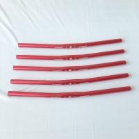 Handlebar Stang Litepro Spirit Flatbar Flat bar Lurus Flat alloy Merah