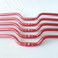 Handlebar Litepro Ghost Stang Alloy 25.4 x 580 mm 58cm Mid rise Merah