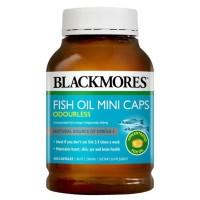 Blackmores Odourless Fish Oil Mini Caps 400caps