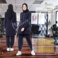 Baju Kaos Olahraga Wanita Muslimah BMS 30 Premium Branded