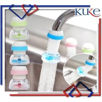 KUKE Sambungan Kran FLEXIBLE Filter Air Anti Splash Shower - Random