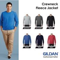 Sweater Jaket Crewneck Kerah Bulat GILDAN FLEECE JACKET 88000