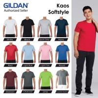 Kaos Polos Gildan Softstyle Baju Kaos Oblong 63000