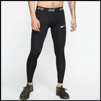 Celana Legging Pria Nike Legging Cowok Hitam Nike Pro Celana Training