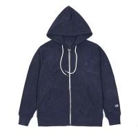 Champion Velvet Fleece Full Zip Jacket Navy - M