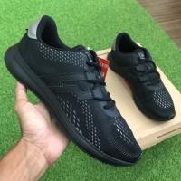 OBRAL Sepatu Sneakers Cowok Original Piero Kensei Racer Evo Black