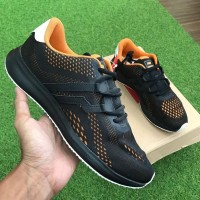 OBRAL Sepatu Sneakers Cowok Original Piero Kensei Racer Evo Orange