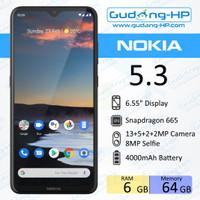 Nokia 5.3 6/64 GB Garansi Resmi