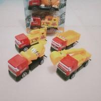 Mainan Enginering Truck Kemasan set isi 4pcs