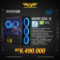 ARMAGGEDDON PC GAMING INSPIRE-I3 INTEL I3 9100F 3.6GHZ + VGA GTX 1650