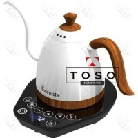 Brewista Gooseneck Electric Kettle White 600ml Teko Leher Angsa