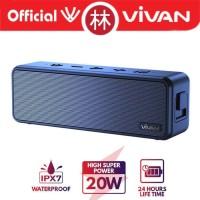 Vivan VS20 Waterproof IPX7 20W Ultra Bass Bluetooth Speaker