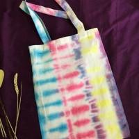 Toote Bag Kanvas Tie Dye