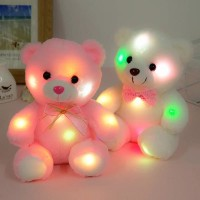 Boneka Beruang Anak Lampu LED / Kado Mainan Anak perempuan Boneka