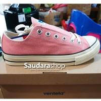Sepatu Ventela BACK TO 70's Pink Low / sepatu Ventela 70s LC Pink