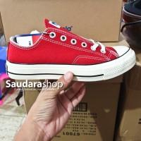 Sepatu Ventela BACK TO 70's Red Low / sepatu Ventela 70s LC Merah