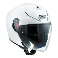 AGV K5 JET WHITE PEARL | HELM MOTOR HALF FACE | ORIGINAL AGV