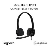 LOGITECH H151 Headset Noise Cancelling Mic - GARANSI RESMI