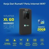 Modem Mifi Wifi 4G HKM001 All Operator Free Perdana XL Go IZI [BYPASS] - Hitam