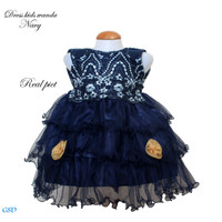 Dress Wanda kids /Dress anak Balita Uk 1-2Thn /Baju anak Perempuan