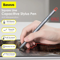 Capacitive Touch Stylus Pen Baseus Anti Misoperation Pencil Universal - Grey