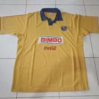 JERSEY CLUB AMERICA LIGA MEKSIKO MEXICO BIMBO COCA-COLA SECOND SEKEN