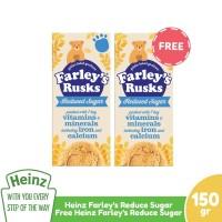 HEINZ Farley's Rusk Reduce 150Gr Free Reduce Sugar 150Gr