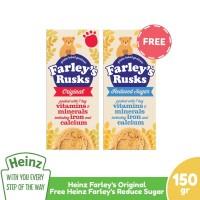 HEINZ Farley's Rusk Original 150Gr Free Reduce Sugar 150Gr