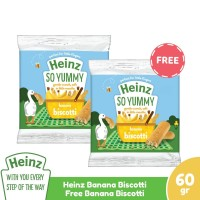 HEINZ Banana Biscotti 60Gr - Free Banana Biscotti 60Gr