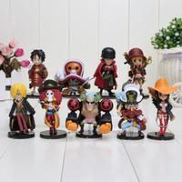 Wcf One Piece Mugiwara Strawhat Pirates Set 9 Action Figure Movie Z