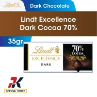 Lindt Excellence Dark Cocoa 70% 35gr