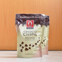 Tulip Dark Compound Chocolate Chips / Tulip Choco Chips - 1KG