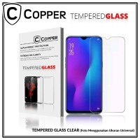 iPhone 5 - COPPER TEMPERED GLASS FULL CLEAR
