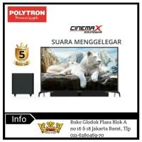 POLYTRON CINEMAX SOUNDBAR LED TV-PLD 32B1550