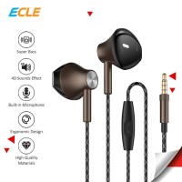 ECLE Original Earphone/Headphone/Headset Super Bass Handsfree Stereo