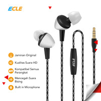 ECLE Original Earphone / Headphone / Headset In Ear Handsfree Stereo