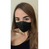 ICONS Sateen Silk Matte Sequin Masker
