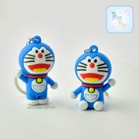 Gantungan Kunci Doraemon Ganci Keychain - Duduk