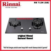 Kompor Tanam Gas Rinnai RB 712NGB 2 Tungku