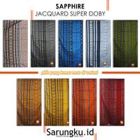 SARUNG SAPPHIRE JACQUARD SUPER DOBY (JSD)