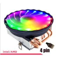Cpu Fan Cooler Ice Magic M400 LED For Intel Dan Amd