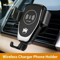 Mobeo Phone Holder Wireless Charger Mobil Smart Portable