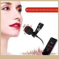 MIC Youtuber 3M 3.5mm Klip Mini Microphone Studio Speech lecture Video