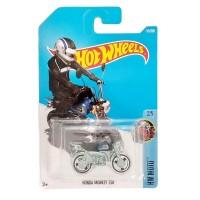 Hot Wheels Moto Honda Monkey Z50 Biru Hitam Mainan Motor Hotwheels