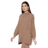 NOA JAIKO Oversize Sweater - Brown