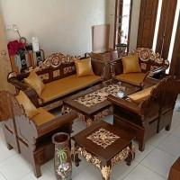 kursi madura matahari,kursi ukir jati, kursi kayu, meja tamu