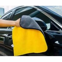 Kain Lap Mobil Microfiber Towel Cloth Dua Sisi Pembersih Mobil