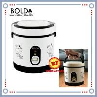 Bolde Super Cook Rice Cooker Magic Com Mini Travel 3in1 0.6Liter