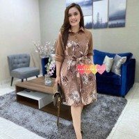 (BIGSIZE ONLY) FLOWER DRESS JUMBO
